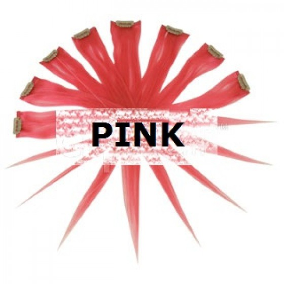 11. Remy Clip in Highlights Pink