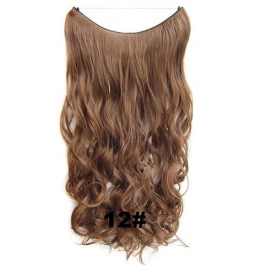 Wire hair wavy 12#