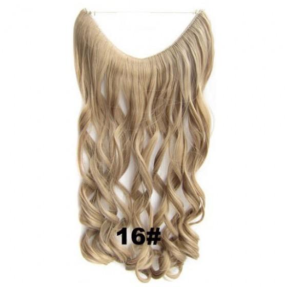 Wire hair wavy 16#