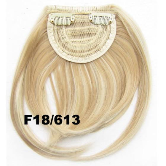Pony hairextension clip in blond - F18/613#