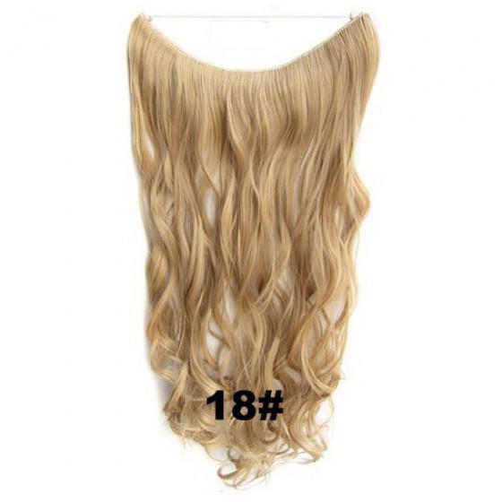 Wire hair wavy 18#