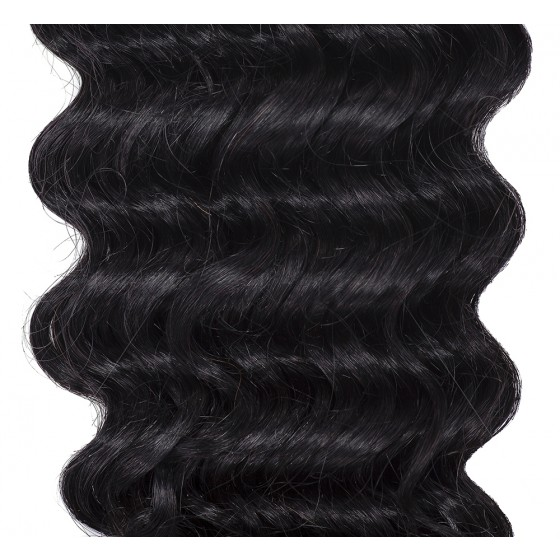 Clip-in Curly Jet Black #1