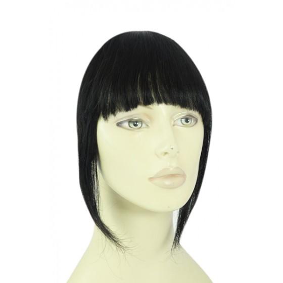Remy Human Hair Clip-in Pony zwart - 1#