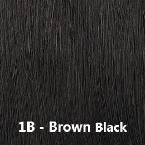 Flip-In Hair Lite 1B Brown Black