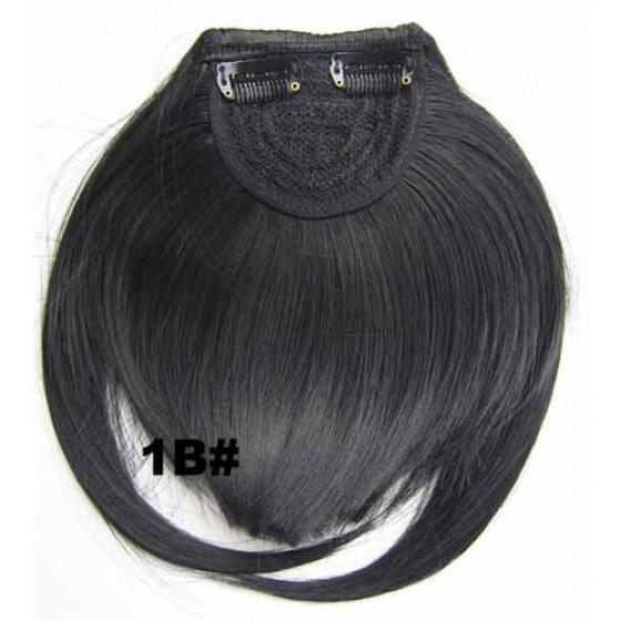 Pony hairextension clip in zwart - 1B#