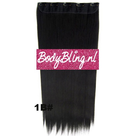 hair extensions clip in 1b
