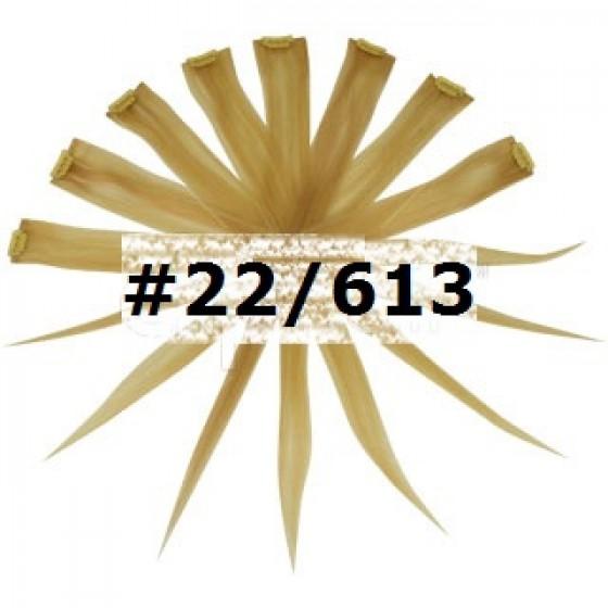 Remy Human Hair Highlights blond #22/613