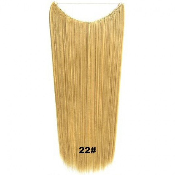 Wire hair straight 22#