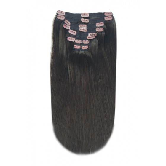 Double Weft Dark Brown #2