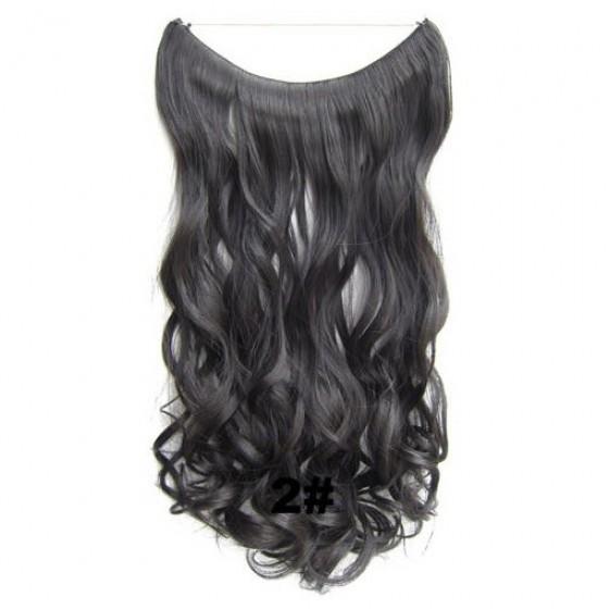Wire hair wavy 2#