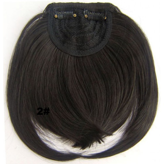 Pony hairextension clip in bruin - 2#