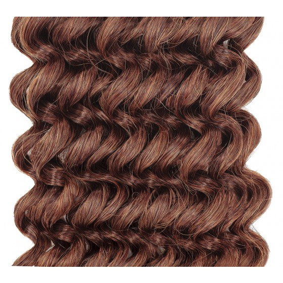 Clip-in Curly Light Auburn #30
