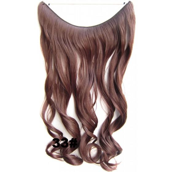Wire hair wavy 33#