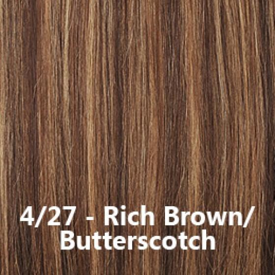 Flip-In Hair Lite 4/27 Rich Brown / Butterscotch