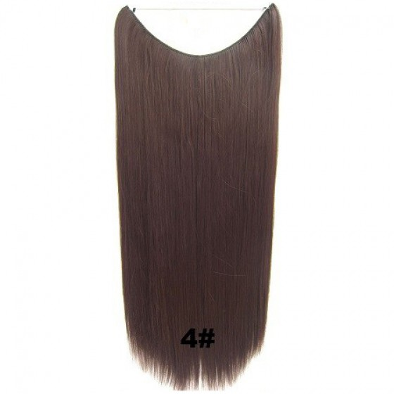 Wire hair straight 4#
