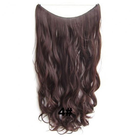 Wire hair wavy 4#