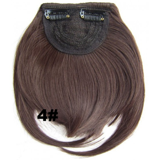 Pony hairextension clip in bruin - 4#