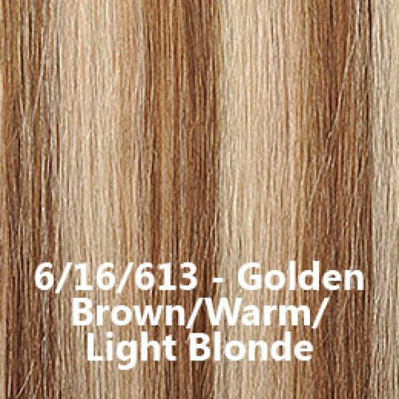 Flip-In Hair Lite 6/16/613 Golden Brown / Warm / Light Blonde