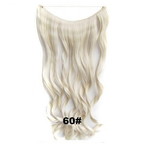 Wire hair wavy 60#