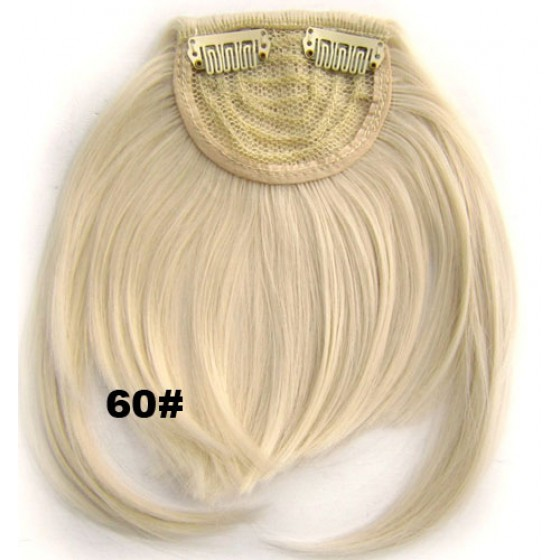 Pony hairextension clip in blond - 60#