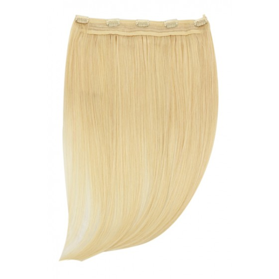 Remy Human Hair extensions Quad Weft straight - blond 613#