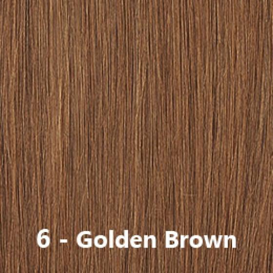 Flip-In Hair Lite 6 Golden Brown