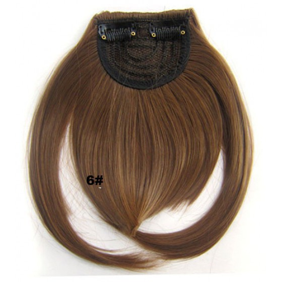 Pony hairextension clip in bruin - 6A#