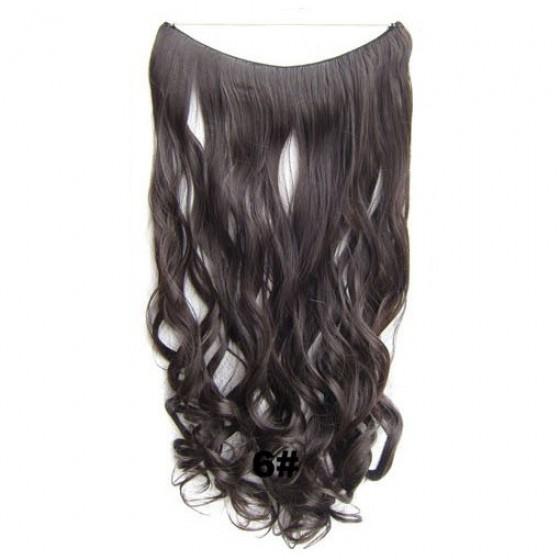 Wire hair wavy 6#