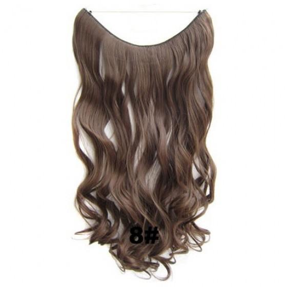 Wire hair wavy 8#