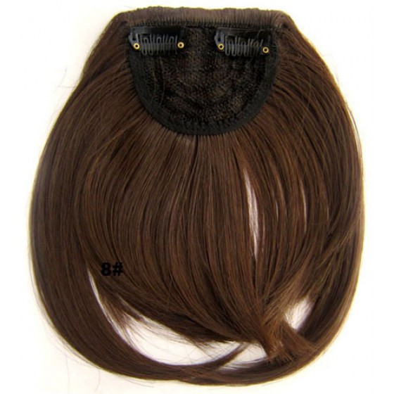 Pony hairextension clip in bruin - 8#