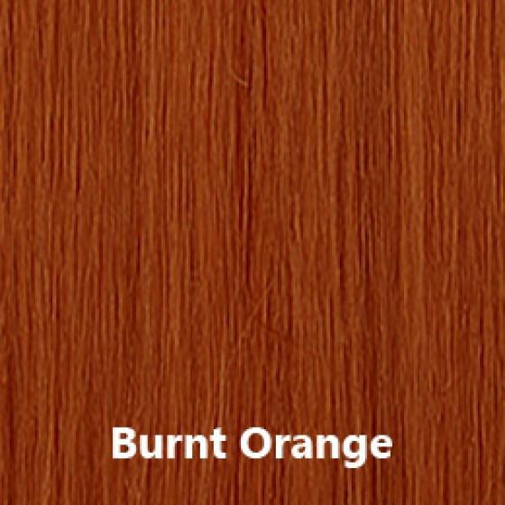 Flip-In Hair Burnt Orange