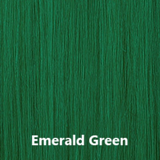 Flip-In Hair Lite Emerald Green
