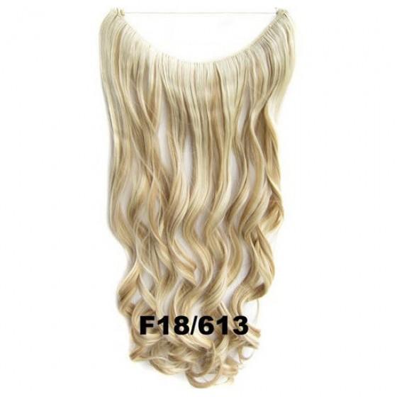 Wire hair wavy F18/613