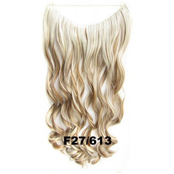 Wire hair wavy F27/613
