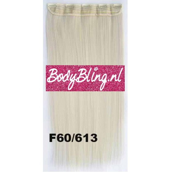 Brazilian clip in hair extension F60/613