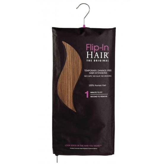 Flip-In Hair 6/27+6 Golden Brown/Butterscotch + Golden Brown