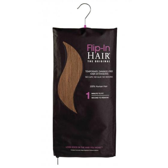 Flip-In Hair 6 Golden Brown
