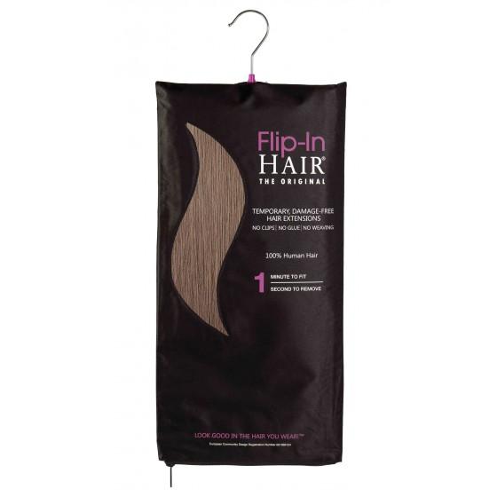 Flip-In Hair 9 Walnut
