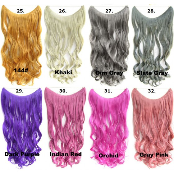 4. Brazilian Wavy Wire Hair