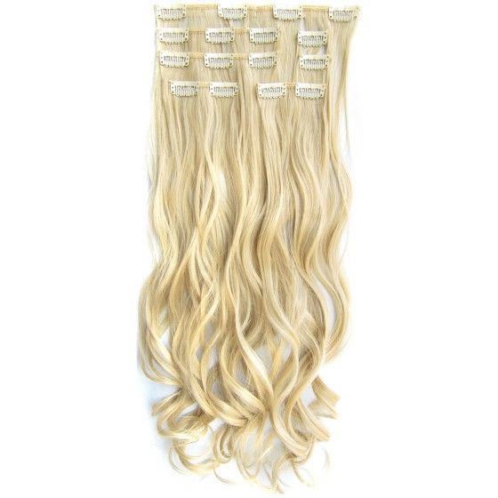 Clip in 7 set wavy M24/613