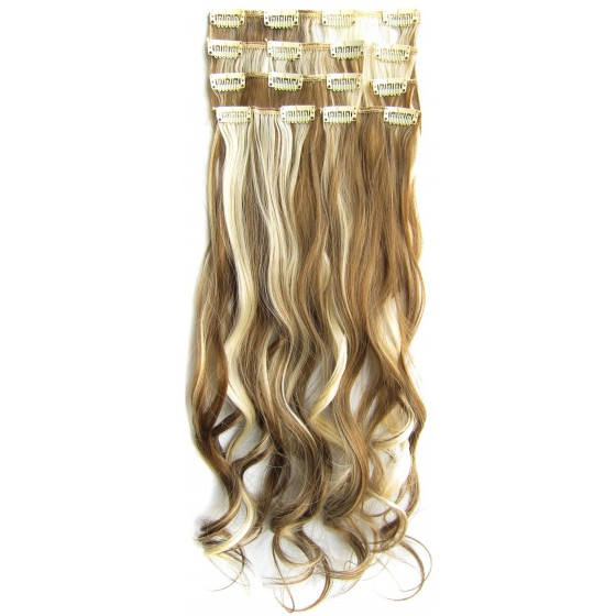 Clip in 7 set wavy P6P/613