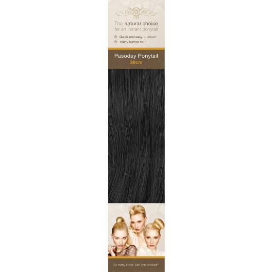 Flip-In Hair Pasoday Ponytail - 1 Black