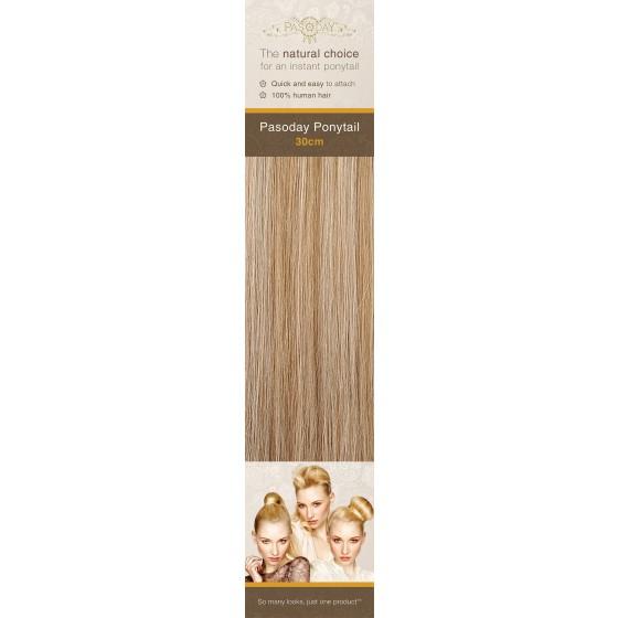 Flip-In Hair Pasoday Ponytail - 10/16 Dark Cinnamon/Warm Blonde