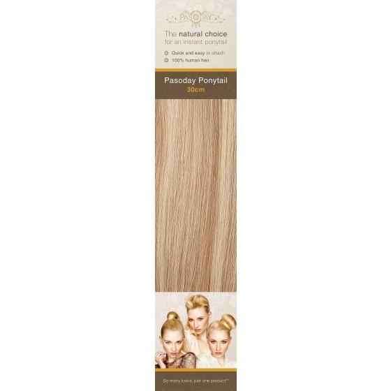 Flip-In Hair Pasoday Ponytail - 12/16/613 Caramel/Warm/Light Blonde