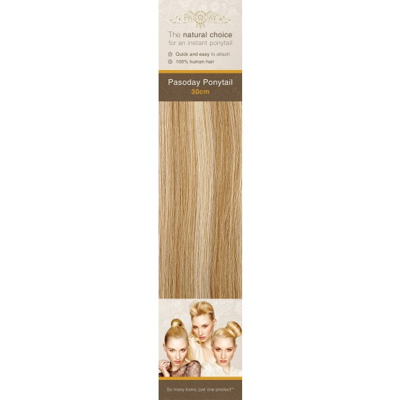 Flip-In Hair Pasoday Ponytail - 18/22 Cinnamon/Sun Blonde