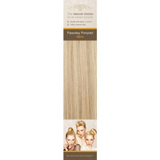 Flip-In Hair Pasoday Ponytail - 18/613+613 Cinnamon/Light Blonde + Light Blonde