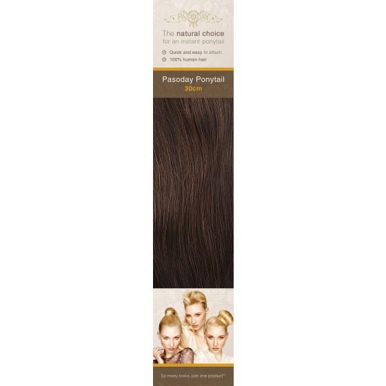 Flip-In Hair Pasoday Ponytail - 3 Dark Brown