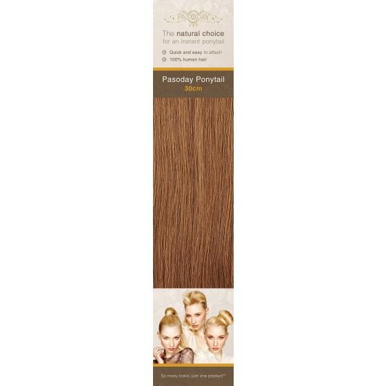 Flip-In Hair Pasoday Ponytail - 30 Light Auburn