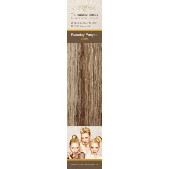 Flip-In Hair Pasoday Ponytail - 6/613 Golden Brown/Light Blonde
