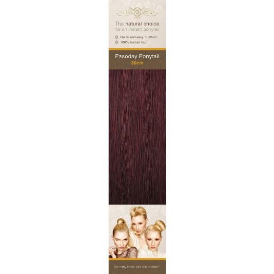Flip-In Hair Pasoday Ponytail - 99 Burgundy